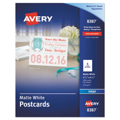 AVE8387 - Avery® Postcards