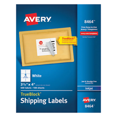 AVE8464 - Avery® Shipping Labels with TrueBlock™ Technology