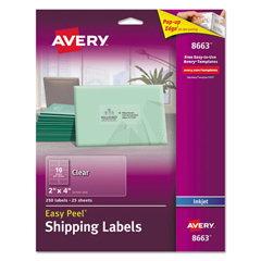 AVE8663 - Avery® Easy Peel® Mailing Labels