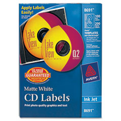 AVE8691 - Avery® CD/DVD Labels