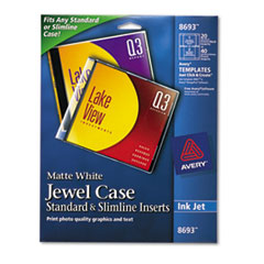 AVE8693 - Avery® Jewel Case Inserts