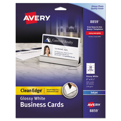 AVE8859 - Avery® Clean Edge® Printable Business Cards
