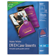 AVE8891 - Avery® DVD Jewel Case Inserts