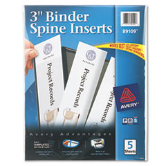 AVE89109 - Avery® Custom Binder Spine Inserts