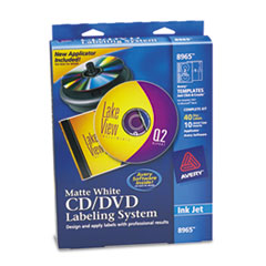 AVE8965 - Avery® CD/DVD Labeling System