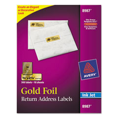 AVE8987 - Avery® Foil Mailing Labels