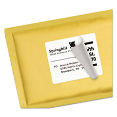 AVE95905 - Avery® Shipping Labels with Ultrahold™ Adhesive and TrueBlock® Technology