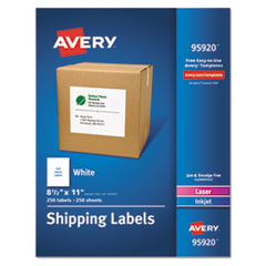 AVE95920 - Avery® White Shipping Labels