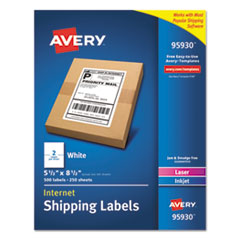 AVE95930 - Avery® White Shipping Labels