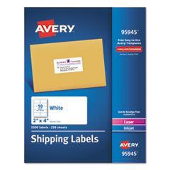 AVE95945 - Avery® White Shipping Labels