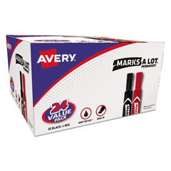 AVE98187 - Avery® Marks-A-Lot® Regular Chisel Tip Permanent Marker