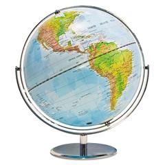 AVT30502 - Advantus® World Globe w/Blue Oceans
