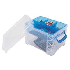 AVT37375 - Advantus® Super Stacker® Divided Storage Box
