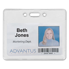 AVT75450 - Advantus® Proximity ID Badge Holders