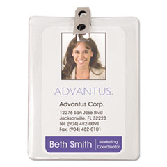 AVT75457 - Advantus® ID Badge Holders