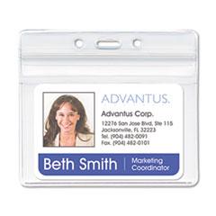 AVT75523 - Advantus® Resealable ID Badge Holders