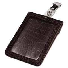 AVT76400 - Advantus® Croc-Textured Badge Holder