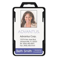 AVT76417 - Advantus® Secure-Two Card RFID Blocking Badge
