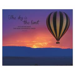 AVT78095 - Advantus® Silhouette Canvas Motivational Print