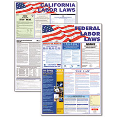 AVT83905 - Advantus® State/Federal Labor Law Poster Combo Pack