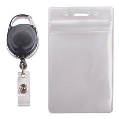 AVT91129 - Advantus® Resealable ID Badge Holders