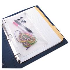 AVTANG51 - Advantus Anglers Zip-All Ring Binder Pocket