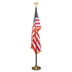 AVTMBE031400 - Advantus® Indoor U.S. Flag and Staff Set