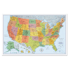 AVTRM528012762 - Advantus® Signature United States Wall Map