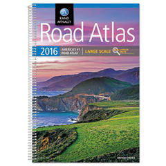 AVTRM528013173 - Rand McNally Large Scale Road Atlas