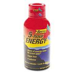 AVTSN500181 - 5-hour ENERGY® Energy Shot - Berry, 12/PK