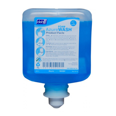 HSCAZU120TF - HospecoDeb Azure Foam Hand Wash