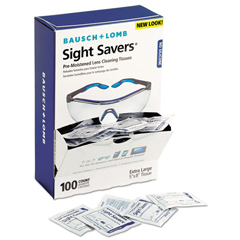 BAL8574GMCT - Bausch  Lomb Sight Savers® Premoistened Lens Cleaning Tissues
