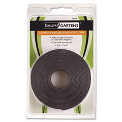 BAU66010 - Baumgartens Adhesive-Backed Magnetic Tape