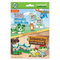 BDU19414AA24 - Leap Frog® Card Game Double Pack - Memory Match Up /Sequencing