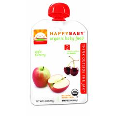 BFG01640 - Happy BabyApple & Cherry Pouch 6+ Months
