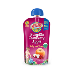 BFG01976 - Earth's BestPumpkin Cranberry Apple Infant Puree Pouch