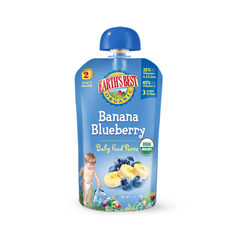 BFG38304 - Earth's BestBanana Blueberry Infant Puree Pouch