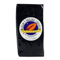 BFG03977 - Adams Organic CoffeesSan Francisco Sunshine Coffee