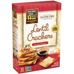 BFG06296 - Mediterranean SnacksCracked Pepper Crackers