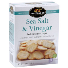 BFG06501 - SnapdragonSea Salt & Vinegar Rice Crisps