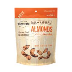 BFG06762 - Woodstock FarmsRoasted & Unsalted Almonds