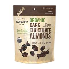 BFG06769 - Woodstock FarmsDark Chocolate Almonds