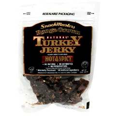 BFG18772 - Snack MastersAll Natural Range Grown Turkey Jerky