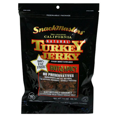BFG18775 - Snack MastersAll Natural Gourmet Beef Jerky Hot & Spicy