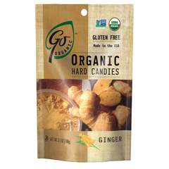 BFG20868 - Go NaturallyOrganic Ginger Hard Candy