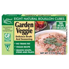BFG21189 - Edward & SonsGarden Veggie Bouillon Cubes