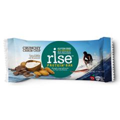 BFG21230 - Rise FoodsCrunchy Carob Chip Protein + Bars