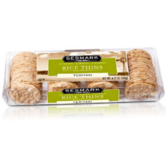 BFG23612 - Sesmark FoodsTeriyaki Rice Thins Crackers