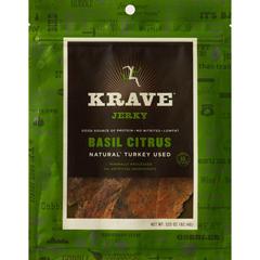 BFG23774 - KraveBasil Citrus Turkey Jerky