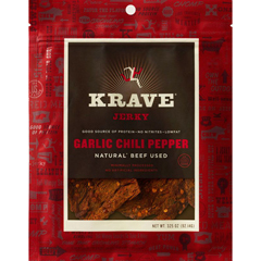 BFG23779 - KraveGarlic Chili Pepper Beef Jerky